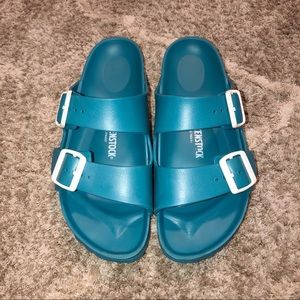 Birkenstock Turquoise Arizona Eva Sandals| 39